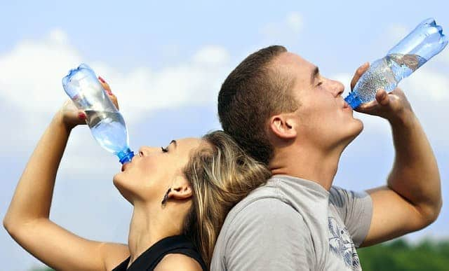 Abnehmen durch trinken