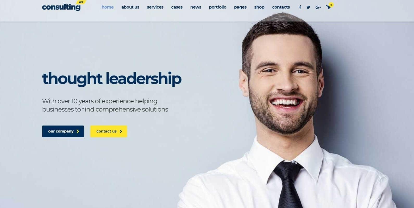consulting-wordpress-theme