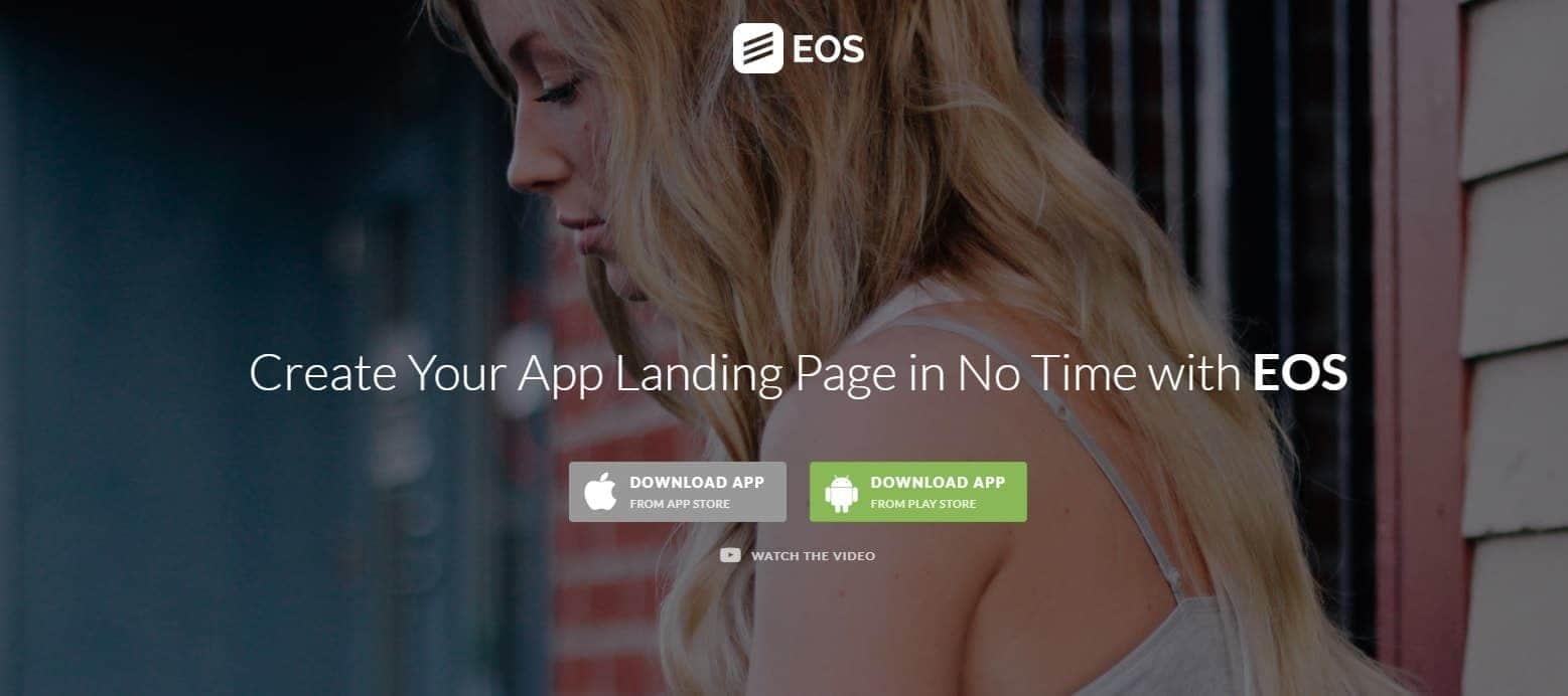 eos-wordpress-landing-page