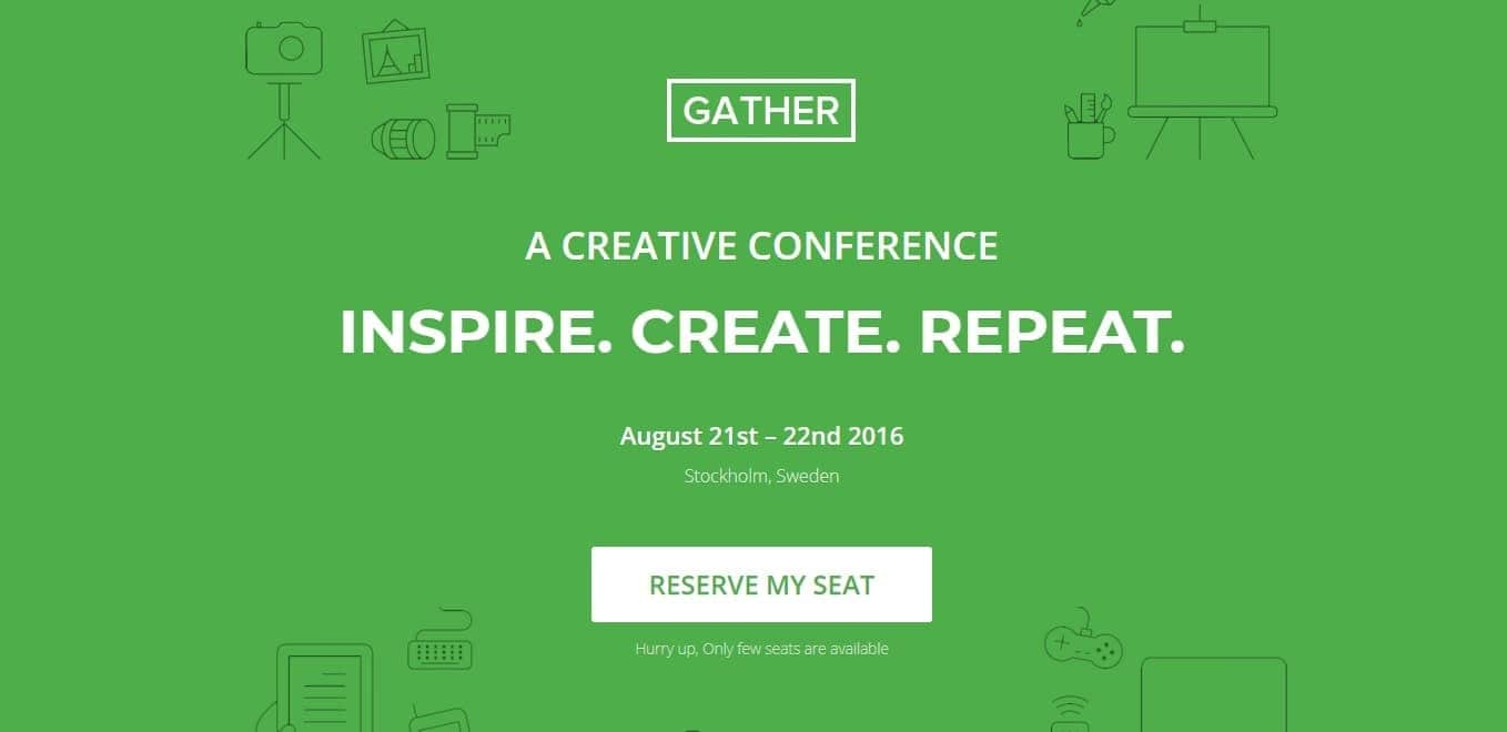 gather-wordpress-landing-page