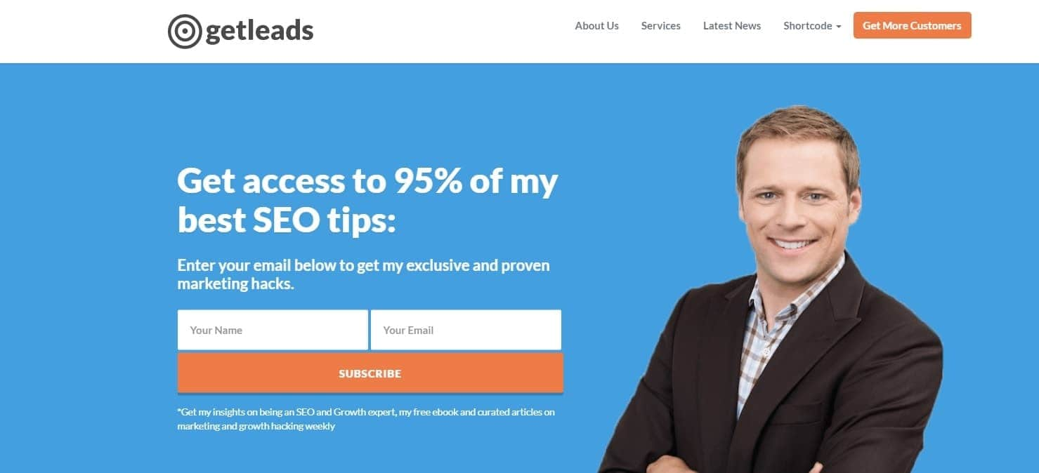 get-leads-wordpress-landing-page