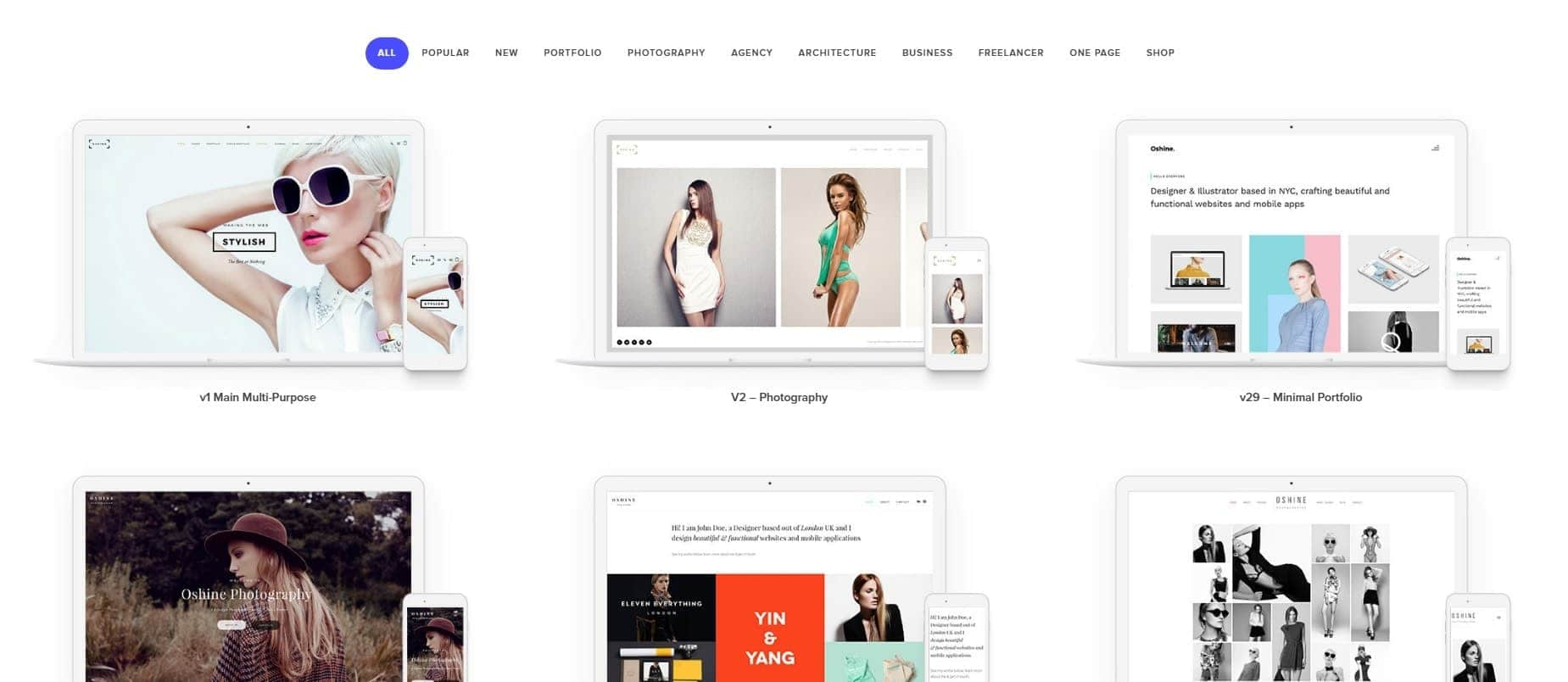 oshine-wordpress-theme