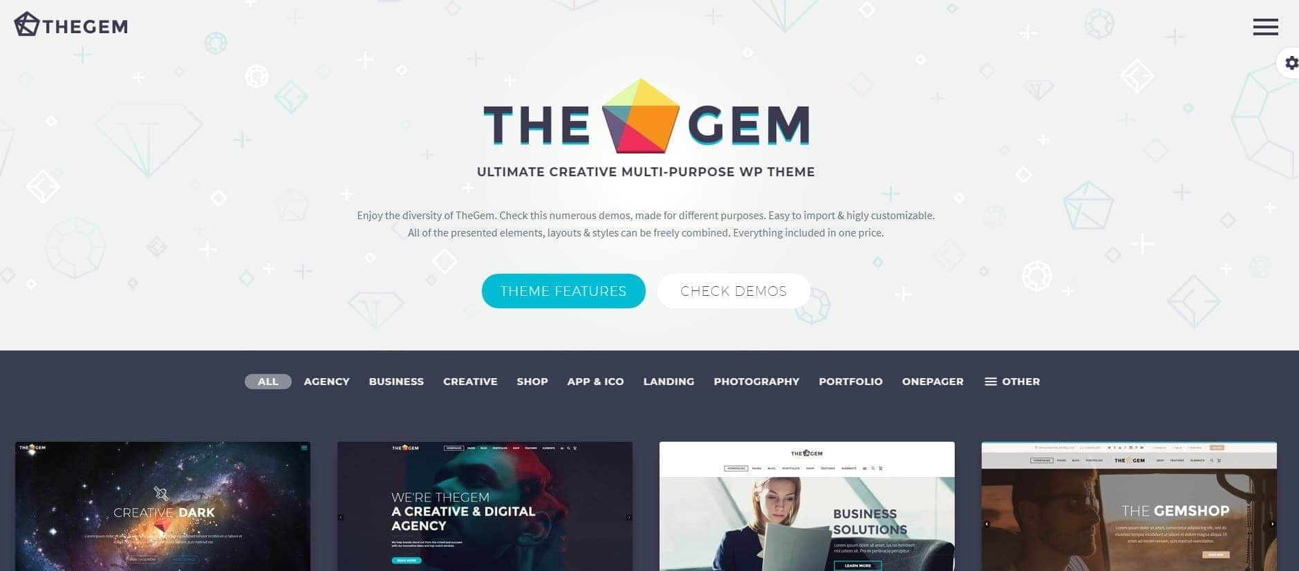 the-gem-wordpress-theme