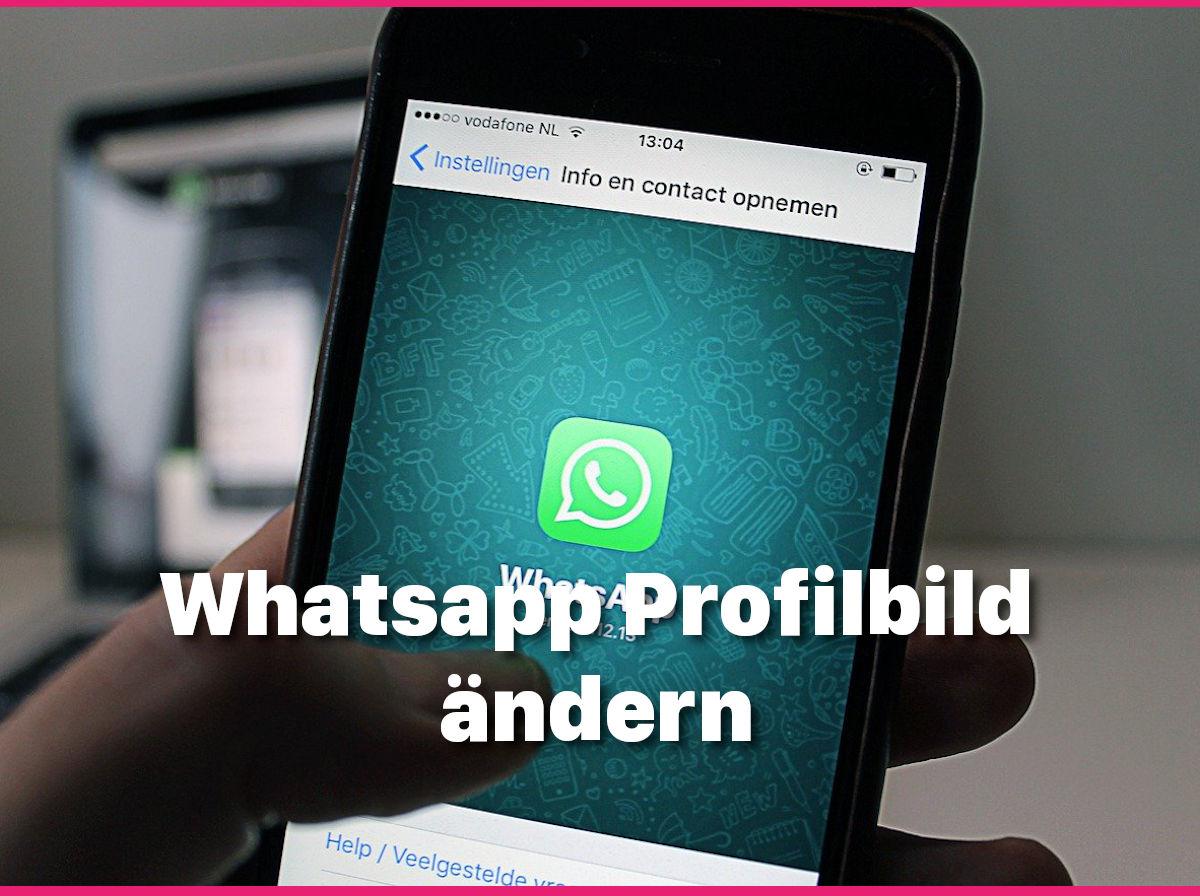 Weg profilbild in whatsapp profilbilder bei