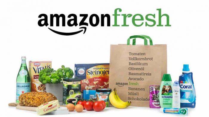 Amazon Fresh Liefergebiet