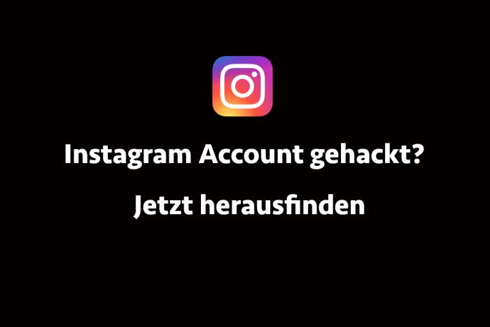 Instagram Account Gehackt