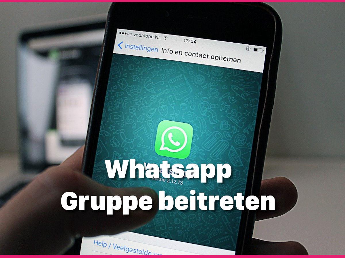 Whatsapp: Gruppe beitreten, So Gehts! - Blogseite.com