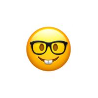 🤓Smiley mit Brille >> Bedeutung - Blogseite.com