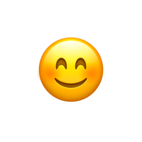 Lachender smiley whatsapp