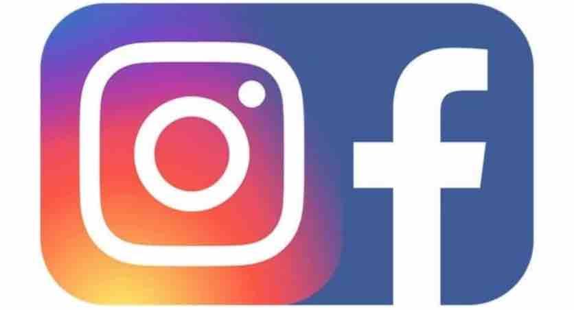 instagram und facebook logo