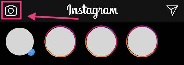instagram story erstellen schritt1