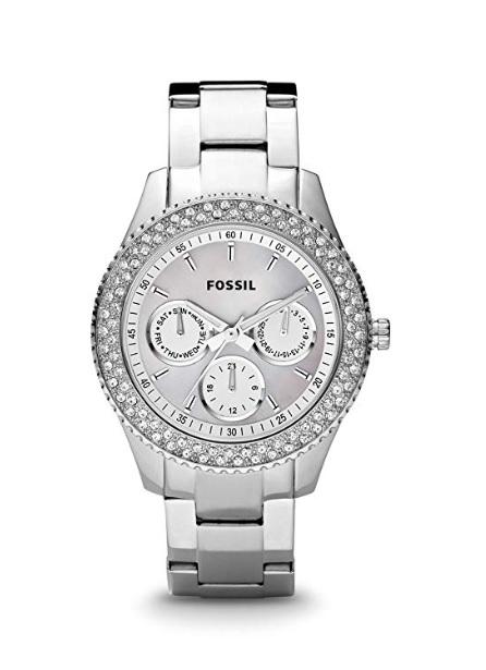 Fossil Damen-Armbanduhr Ladies Dress Analog Quarz ES2860