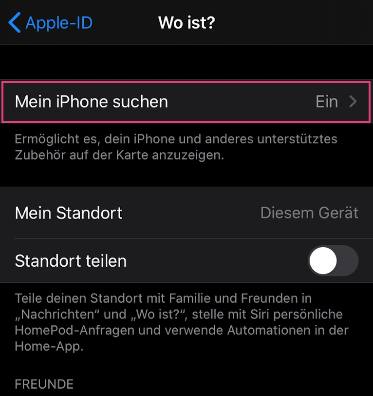 mein-iphone-suchen-deaktivieren