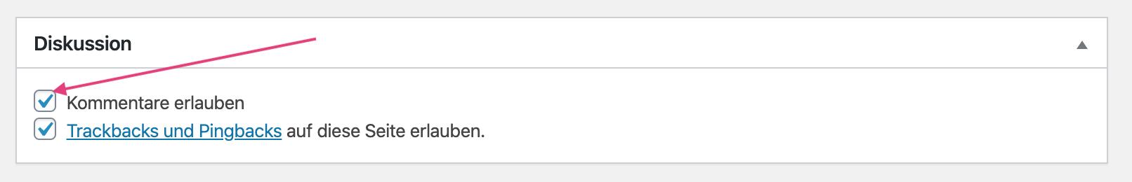 Wordpress-Kommentare-deaktivieren
