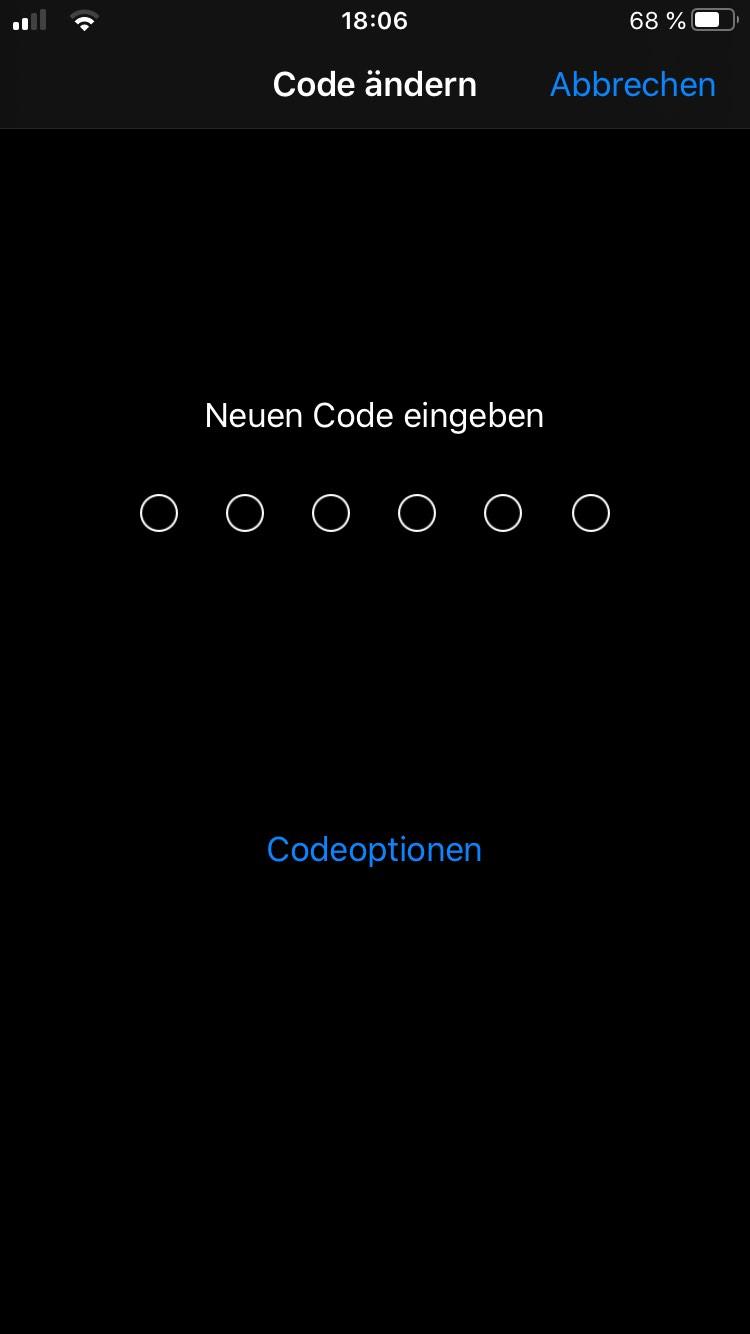 iphone-code-sperrcode-ändern