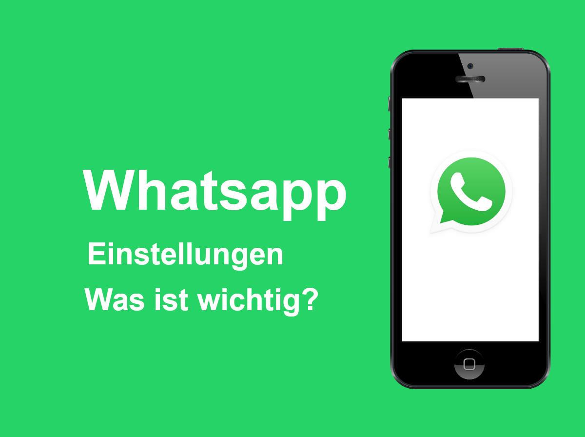 Whatsapp Einstellungen Online