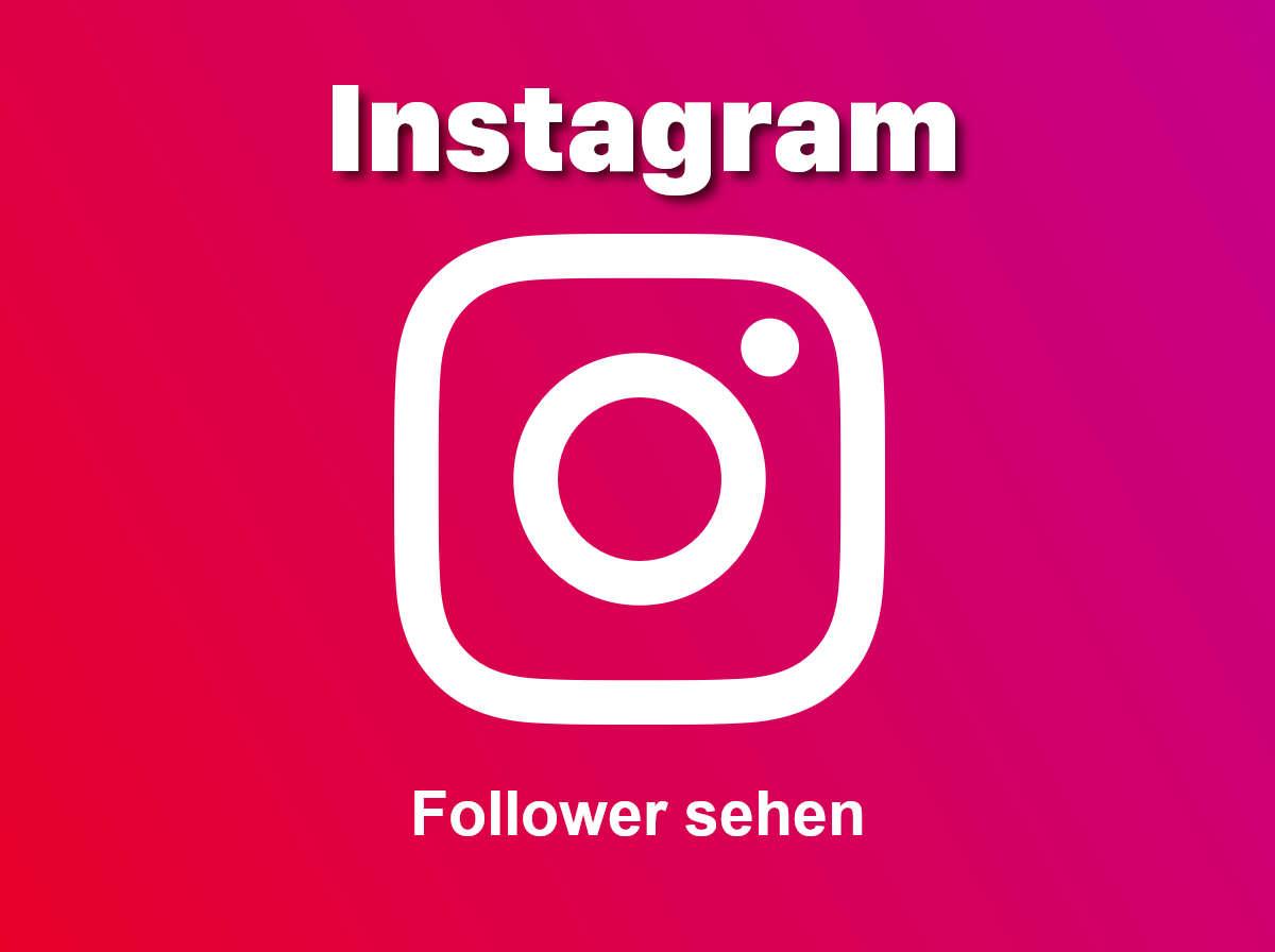 Instagram: Wer folgt mir? Follower sehen - Blogseite.com