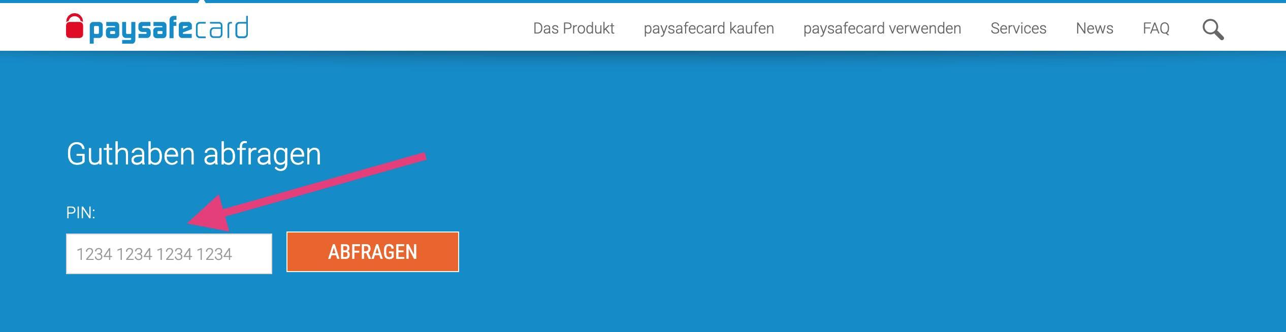 Paysafecard.Com Guthaben Abfragen