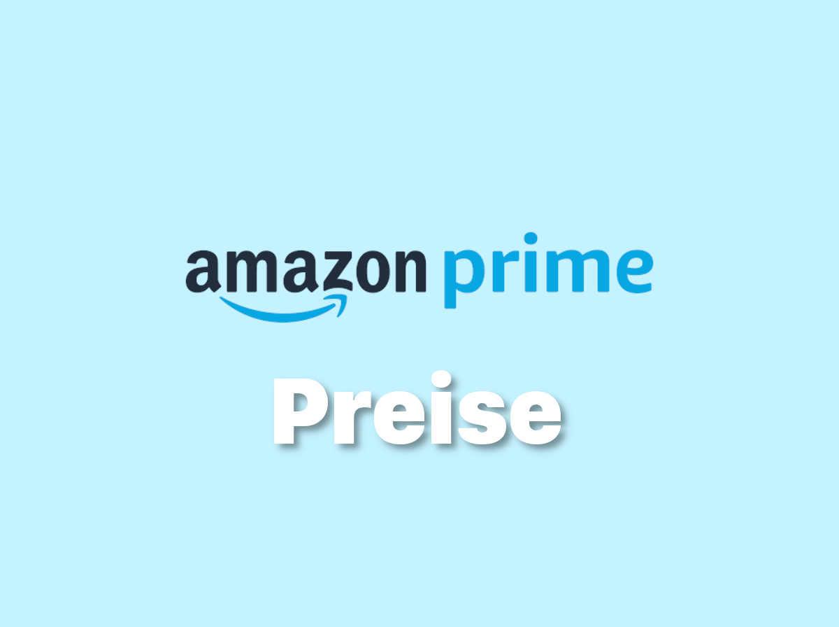 Amazon Prime Preise & Kosten