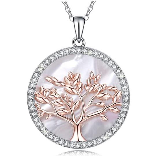 Lebensbaum Halskette für Damen & Freundin