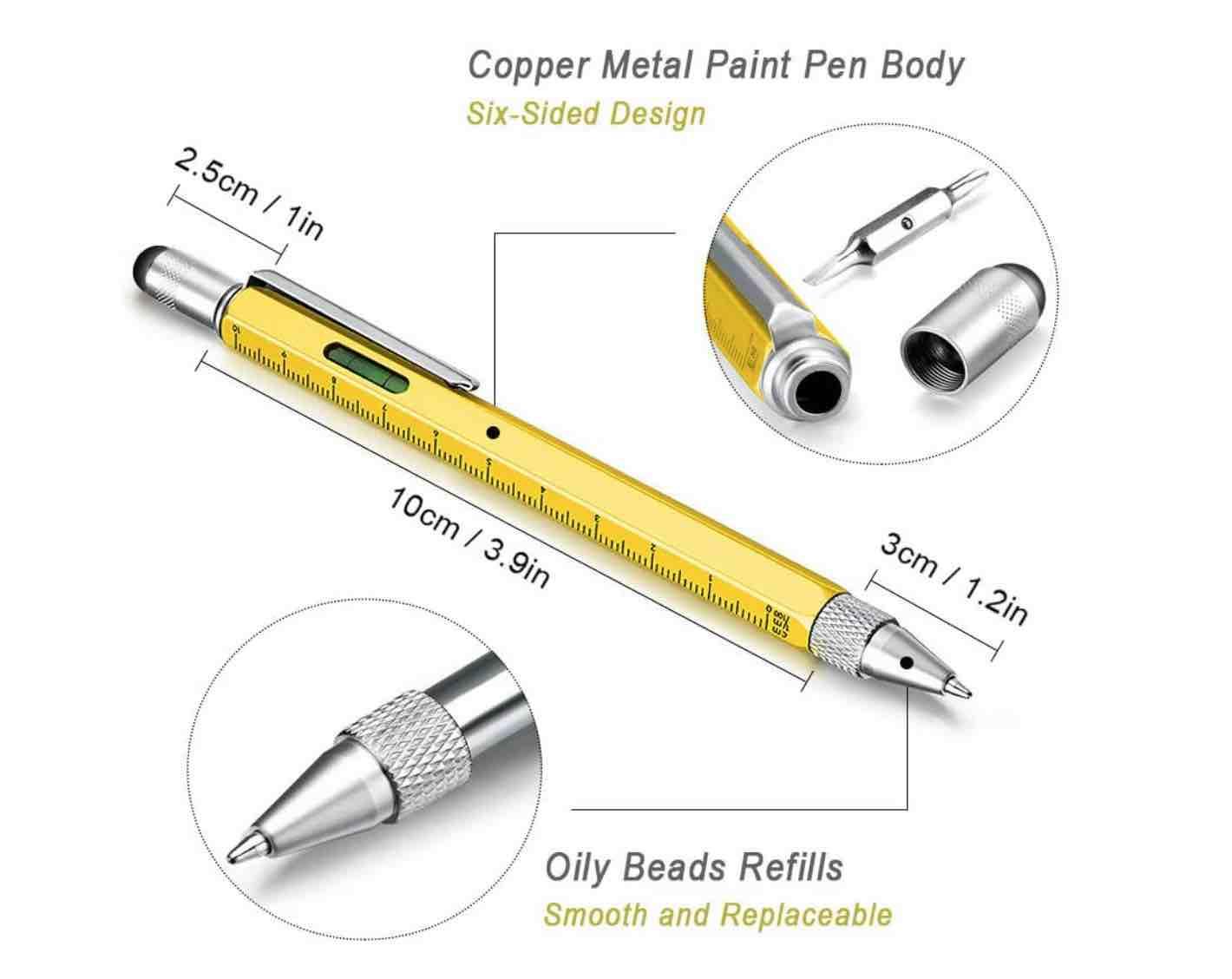 Handwerker Kugelschreiber mit Werkzeugen