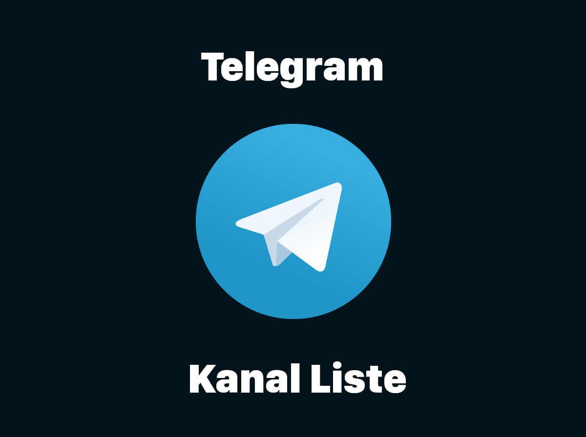 Telegram Kanäle 20  Die komplette Liste   Blogseite.com